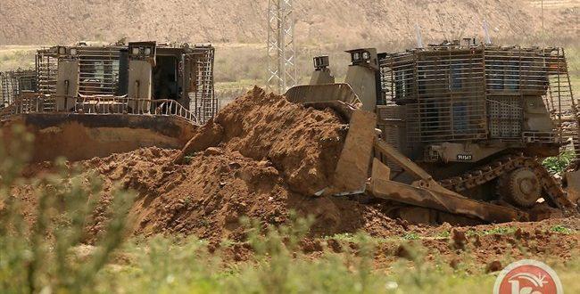 כלי רכב צבאיים ישראליים חדרו לדרום רצועת עזה הנצורה