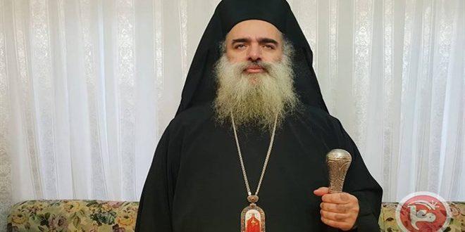 הבישוף חנא גינה את ההפרות של הכיבוש הישראלי דוגמת ההוצאות להורג בקרב הפלסטינים