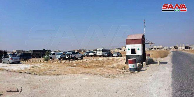 הטרוריסטים של א-נוסרה מונעים מהאזרחים להגיע למעבר אבו א-דהור
