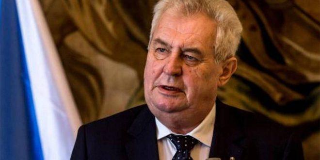 נשיא צ'כיה ..ממשל ארדואן מבצע פשעי מלחמה בסוריה