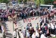 עצרת מחאה בדרעא נגד התוקפנות הטורקית