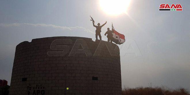 הצבא הערבי הסורי נכנס לארמון ילדה והתמקם בציר תל תמר אל-אהראס שבפרבר אל-חסכה הצפוני-מערבי