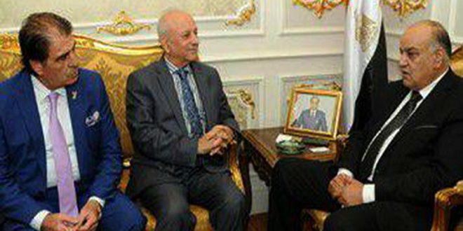 ראש הפרלמנט המצרי גינה את התוקפנות הטורקית בשטחים הסורים