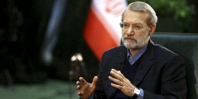 לאריגאני הדגיש את צורך מציאת פתרון מדיני למשבר הסורי