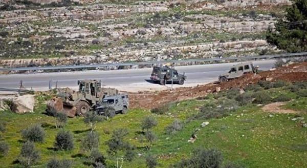 כוחות הכיבוש גרפו אדמות פלסטיניות מזרחית לאלקודס