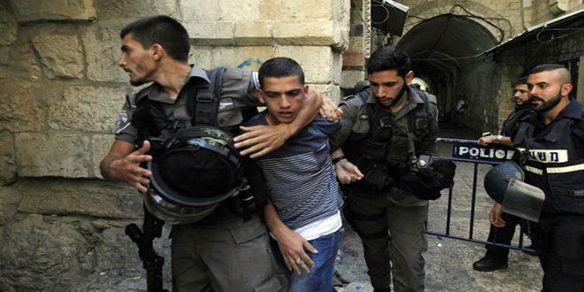 הכוחות הישראליים עצרו 11 פלסטינים בגדה המערבית