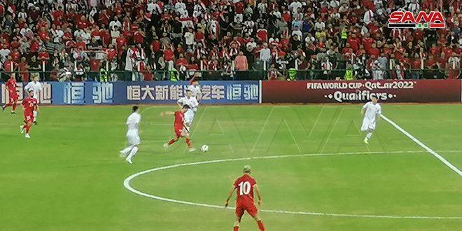 ניצחון סורי בכדורגל מול סין בסיום תחרויות המעבר בכיוון אסיה וגביע העולם