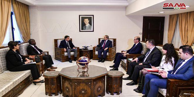 """אל-מוקדאד : סוריה תמשיך לתמוך באונר""""א עבור הפלסטינים שבסוריה"""