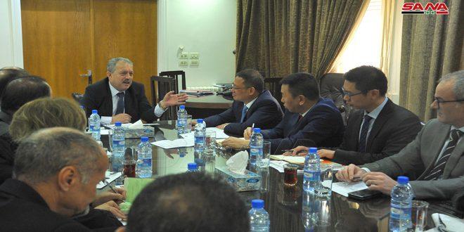 שר משאבי המים דן עם שגריר סין בהרחבת שיתוף הפעולה בין שתי הארצות ובעקר בתחום פרויקטי המים