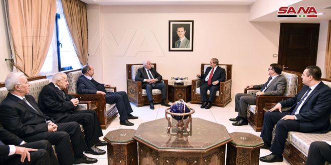 """אל-מוקדאד למשלחת הוועד הפועל של אש""""ף: יש צורך לחיזוק אחדות השורה הפלסטינית בפני המתקפה האמריקנית-ציונית"""