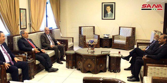 אל-מוקדאד הדגיש את עומקם של הקשרים הדו-צדדיים בין סוריה להודו