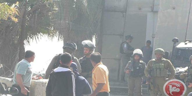 מספר פלסטינים נחנקו במהלך פשיטתם של כוחות הכיבוש על צפון חברון