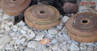 שני פועלים נפלו חלל בהתפוצצות מוקש משרידי הטרוריסטים במהלך עבודתם באזור אליירמון בעיר חאלב