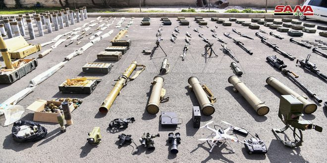 גילוי כלי נשק ותחמושת רובם מתעשייה טורקית וכמות של סמים משארית הטרוריסטים באזור הדרום