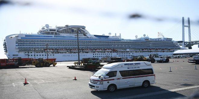 יפן הדגישה כי מניין הנדבקים בקורונה על ספינת התענוגות עלה ל-355