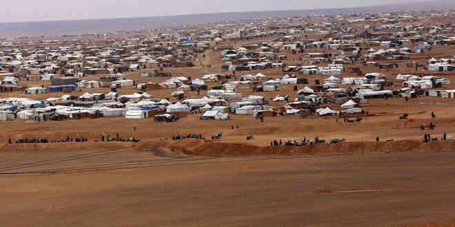 שני גופי התיאום הרוסי –סורי הדגישו כי וושינגטון מעבירה ציוד מלחמתי לטרוריסטים במחנה אלרוקבאן