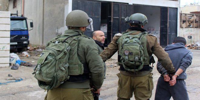 כוחות הכיבוש עצרו 3 פלסטינים בעיר אל-קודס הכבושה