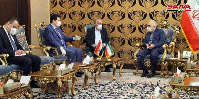 שיחות סוריות-אירניות על הרחבת שיתוף הפעולה הכלכלי וההשקעות
