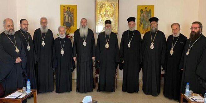 הפטריארך יאזג'י נפגש עם הארכיבישופים של הכניסיות הסוריות ומחליטים לפתוח הכניסות מחדש