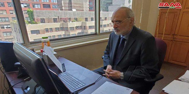 """אל-ג'עפרי הדגיש את חשיבות המרצת הכלים של האו""""ם ללא כפילות מימדים ופוליטיזציה"""
