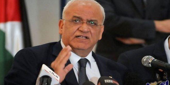 עריקאת קורא לפתוח בהליכים מידיים נגד תוכניות הכיבוש הישראלי