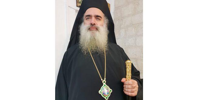 הבישוף חנא : ההתקוממות היא השביל היחיד לעמוד מול המדיניות ההתרחבותית של ישראל