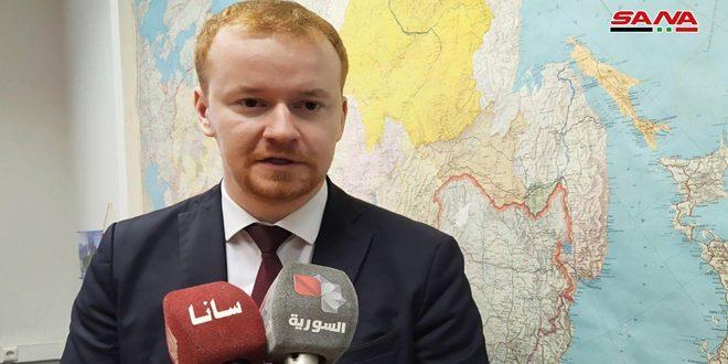 ציר רוסי: המדיניות האגרסיבית של האיחוד האירופי כלפי סוריה חושפת את המציאות הבלתי אנושית שלה
