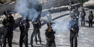כמה פלסטינים לקו בחנק כתוצאה להתקפות כוחות הכיבוש בצפון חברון