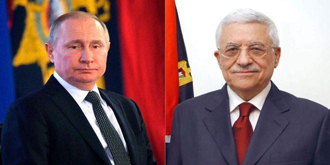 פוטין.. אנו תומכים בפתרון השאלה הפלסטינית לפי החלטות הלגיטימיות הבנלאומית