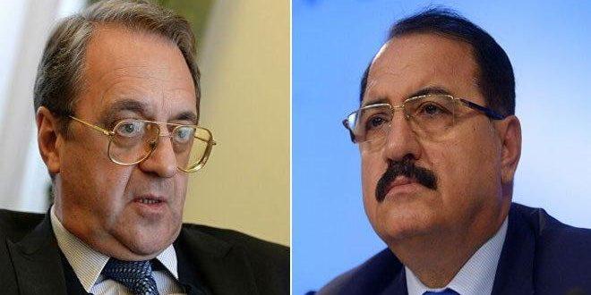 בוגדנוב דן עם השגריר חדאד בחיזוק שיתוף הפעולה הבילטראלי