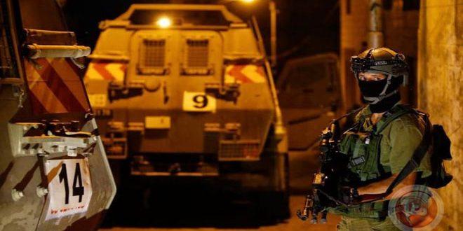 כוחות הכיבוש עוצרים 7 פלסטינים בגדה