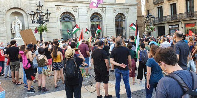 הפגנות מחאה בספרד ונורווגייה לדחיית תוכניות הכיבוש לסיפוח שטחים פלסטיניים