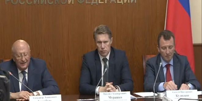שר הבריאות הרוסי ציפה יצור חיסון נגד קורונה בתוך שבועיים