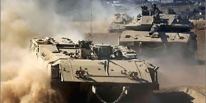 הכיבוש הישראלי תוקף בארטילריה את דיר אלבלח במרכז רצועת עזה