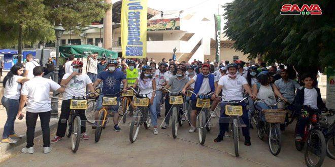 מרתון בדמשק כדי לאפשר לנשים גילוי מוקדם בנושא סרטן השדים