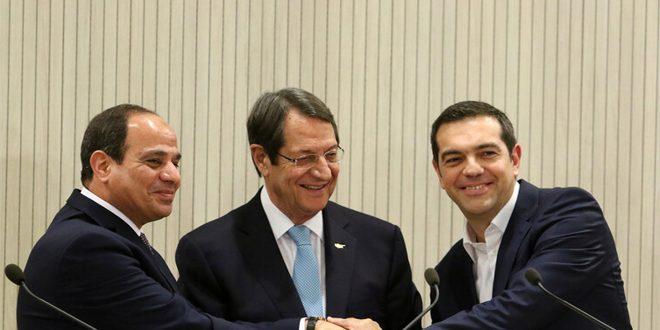 מצרים – קפריסין ויוון : הפיתרון בסוריה מדיני המבוסס על כיבוד ריבונותה ואחדות שטחיה