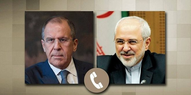 לברוב וזריף דנו בשיחת טילפון במצב בסוריה ובתיק האטומי האיראני