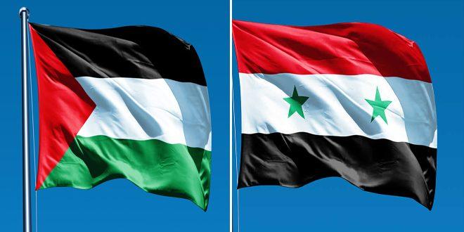 לרגל היום העולמי להזדהות עם העם הפלסטיני … סוריה מחדשת את תמיכתה בזכויותיו של העם הזה