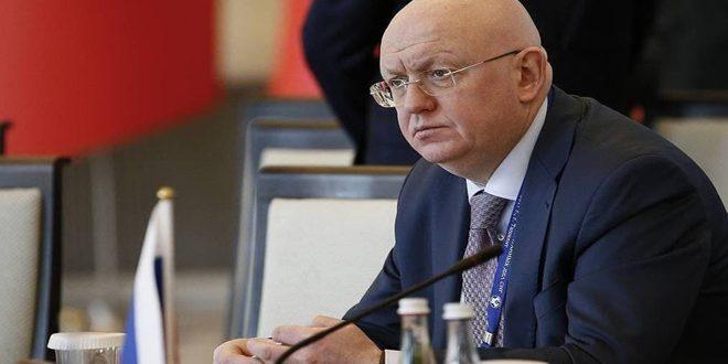 נבינזיה רוסיה תתנגד לדיונים הסגורים בתיק הכימי של סוריה במועצת הביטחון