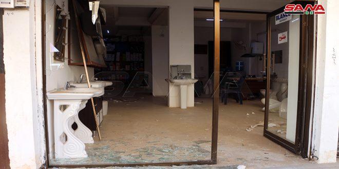 סיכול ניסיון לפיצוץ אופנוע ממולכד מול תחנת דלק במרכז עיר דרעא