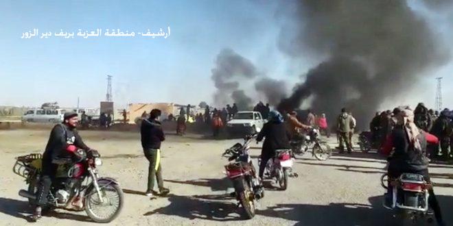 מספר מחמושי מיליציה קסד נפצעו בשתי התקפות בכפרים אל-עזבה ואבו חמאם בפרבר דיר א-זור