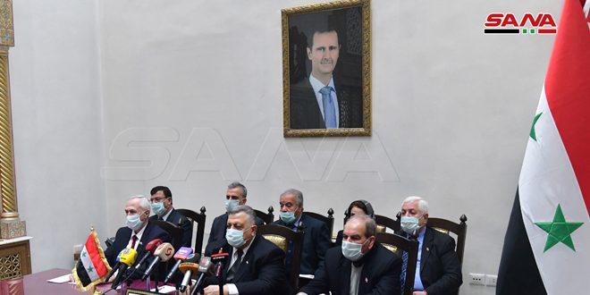 סבאע' בוועידת הפרלמנטרים של המדינות המגינות על פלסטין: המלחמות והסנקציות שלהן נחשפת סוריה הן פועל יוצא להתנגדותה לוותור על העם הפלסטיני