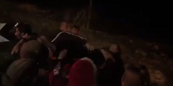 צעיר פלסטיני נפצע מירי הכוחות הישראליים