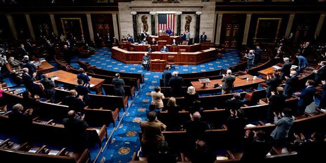 בית הנבחרים האמריקאי מסכים להפליל את טראמפ באשמת ההסתה על המרד