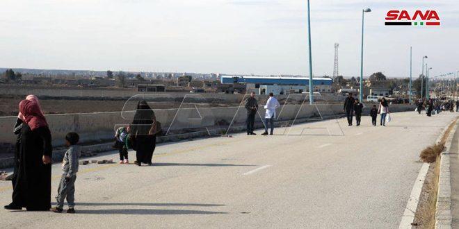 פתיחתו מחדש של מעבר א-סאלחייה היבשתי שמחבר בין האזורים המשוחררים בעיר דיר א-זור לבין הפרבר הצפוני של העיר