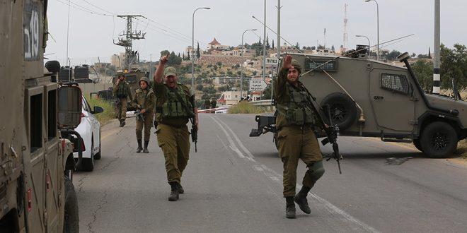 כוחות הכיבוש חסמו מבואות כפר בדרום חברון