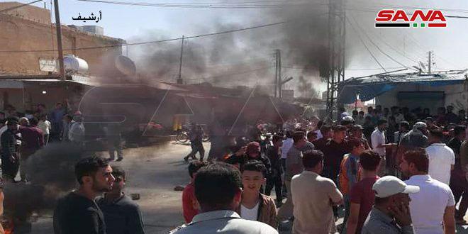 3 חמושים ממיליציה קסד נהרגו בהתקפה שבוצעה בנפת תל חמיס באל-חסכה