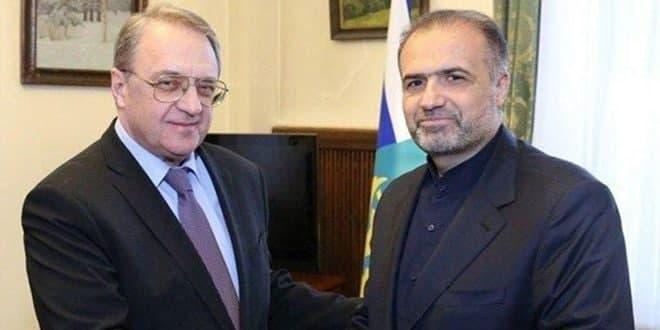 בוגדנוב דן עם ג'לאלי במצב של סוריה ועיראק