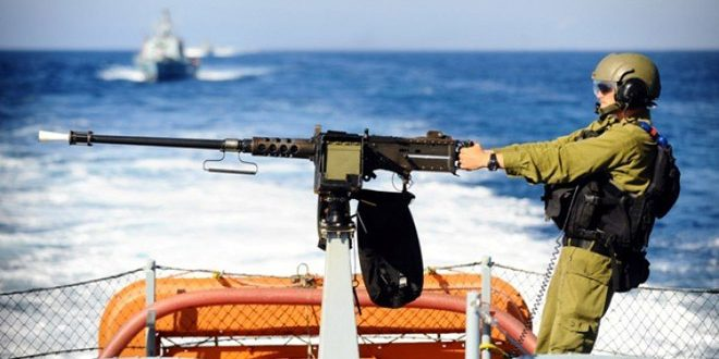 ספינות הכיבוש תוקפות את הדייגים הפלסטינים בצפון מערב רצועת עזה