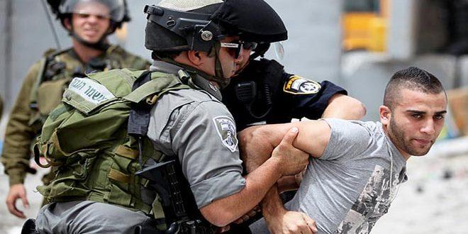 19 פלסטינים נעצרו ועוד נוספים נפצעו בפשיטתם של כוחות הכיבוש על כמה אזורים בגדה המערבית